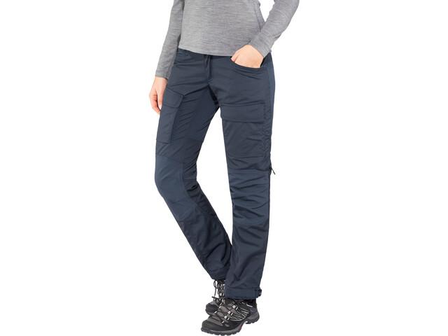 Lundhags Authentic II Pantaloni Donna, deep blue